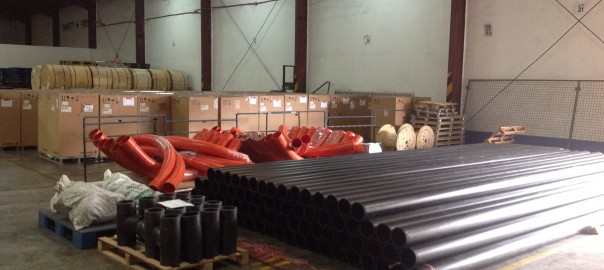 pipe fittings logistics